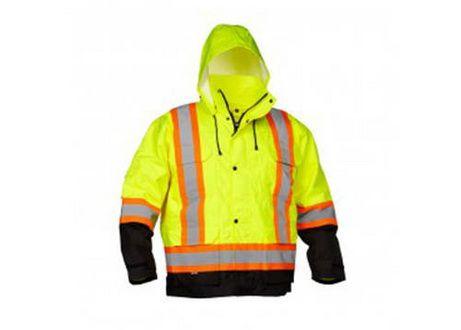 Veste de travail 4en1 -  Price:99.99  L'item idéal pour le travail extérieur sous toutes conditions météorologiques, cette veste de pluie vous gardera sec lors des orages les plus intenses, et en tout confort! Ultra-flexible, avec un blouson intérieur détachable, un capuchon coupe-vent, d'amples poches extérieures et intérieurs, ainsi que son tissu imperméable et coupe-vent, et sa couleur fluorescente, c'est l'accessoire parfait […]  Cet article Veste de travail 4en1 est apparu en…