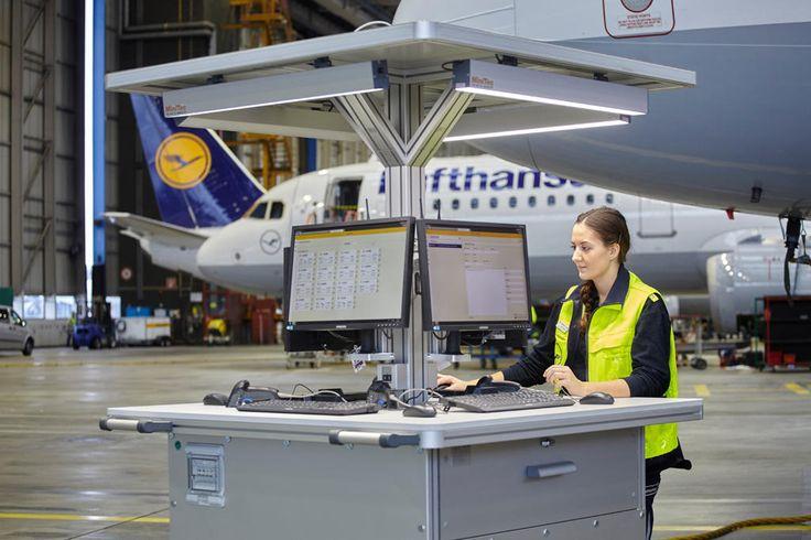 Die Wartungsarbeiten an Flugzeugen der Lufthansa-Airlines und der Lufthansa Cargo werden künftig in elektronischer Form dokumentiert.