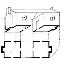 1000 images about dogtrot on pinterest small modern for Small dog trot house plans