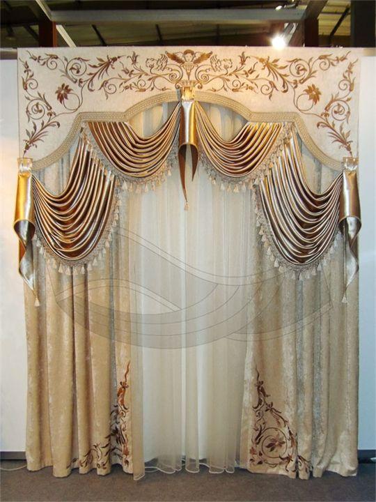 Эксклюзивный комлект штор с вышивкой от Декоративного Оформления Окон