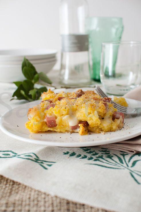 Pasticcio di patate senza uova
