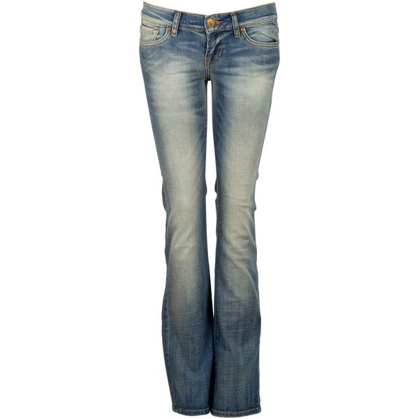 LTB Jean flare Jean Delave ❤ liked on Polyvore