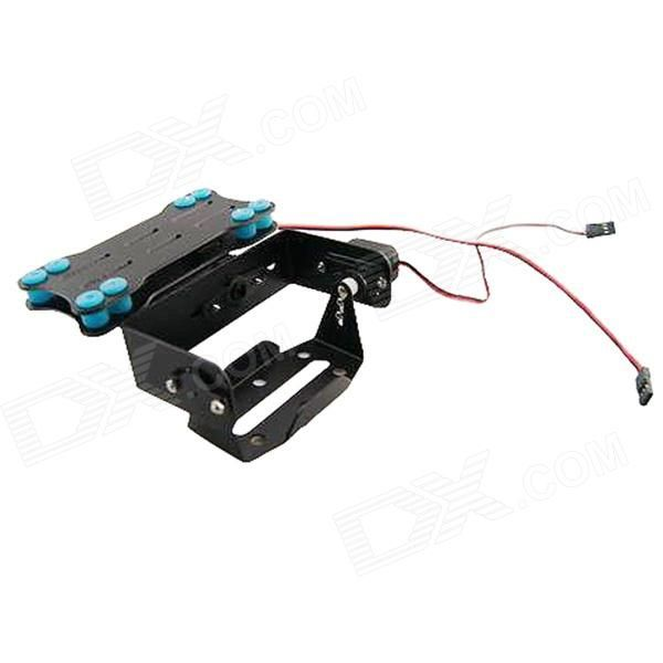 PTZ Anti-vibration Platform Mount for Gopro 2 / 3 - Black. Fit for both Hero 2 and Hero 3; Request Standard or S9257 size servo and Mini size servo; Recommanded high speed digital servo.. Tags: #Hobbies #Toys #R/C #Toys #Other #Accessories