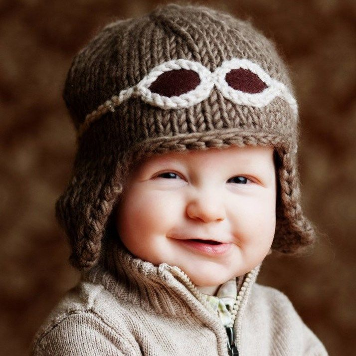 How Adorable! Wilbur Aviator Hat now at @Layla Grayce #laylagrayce #new #baby