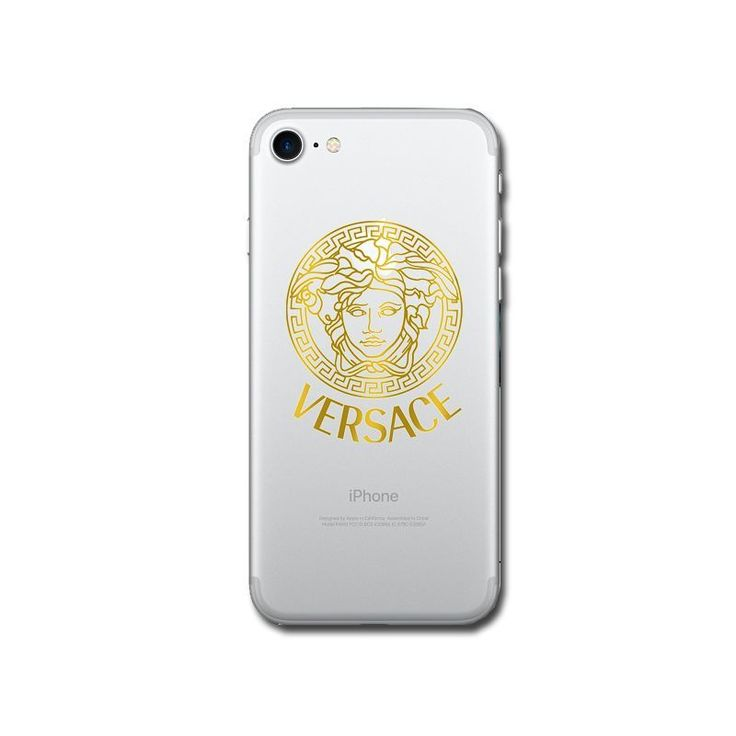 VERSACE IPhone 4 5 6 7 IPhone Transparent Clear Case