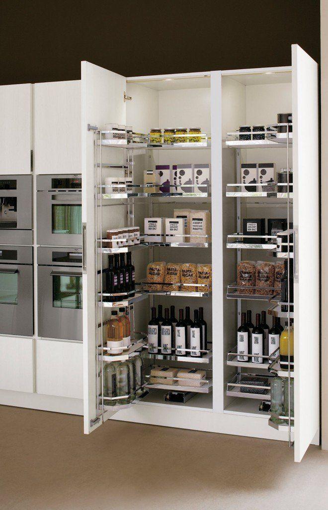 Cucina: che moduli scelgo per la dispensa | Cucine moderne ...