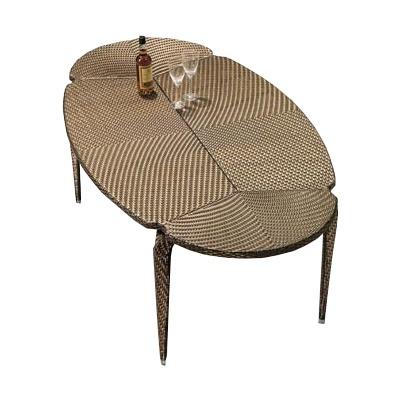 Polyrattan Gartentisch 200 X 110 Gartentisch Polyrattan Und Tisch