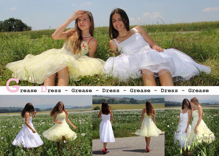 Girls Dresses. Grease Inspired Dresses.