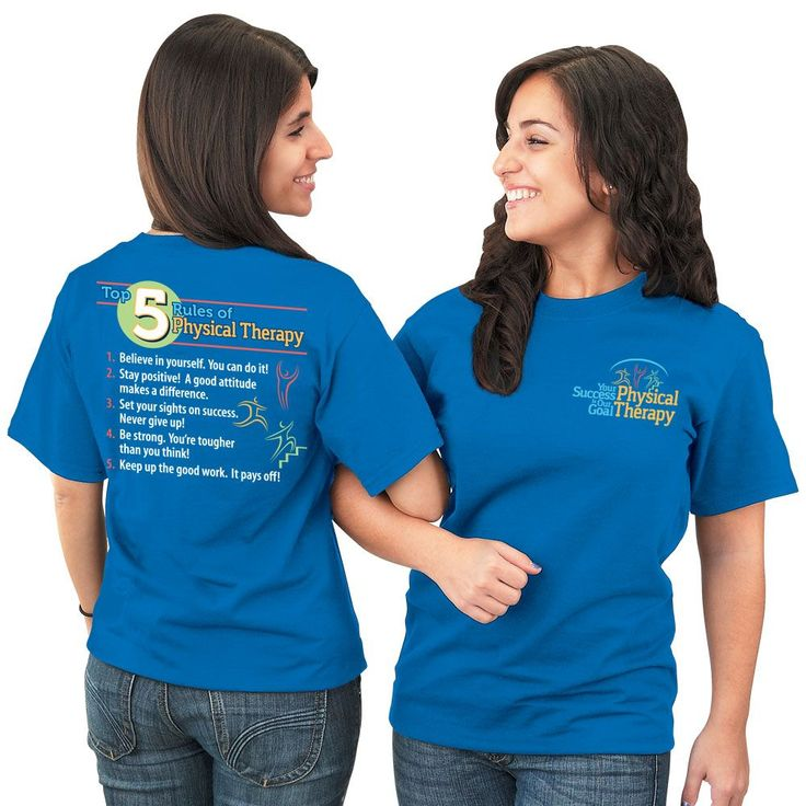Top 5 Rules Of Physical Therapy 2-Sided T-Shirt