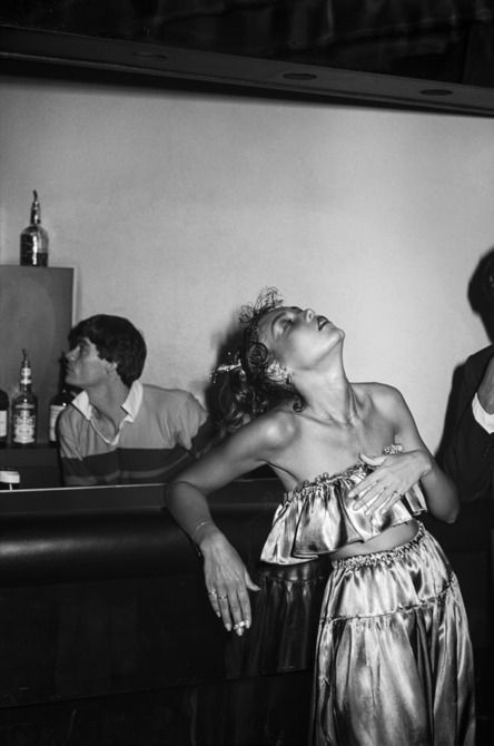 In the early morning hours of January 1, 1978, photographer Tod Papageorge was ringing in the New Year at Studio 54. It was his first visit to the legendary club, and, inspired Brassaï's photographs of Parisian nightlife in the 1930s, he'd brought along a hefty, six-by-nine-centimeters Fujica camera.