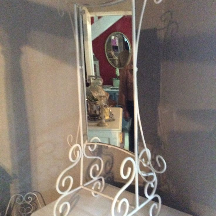 In love? Vintage wrought iron hard to find this style R950 @ heyjudes antiques barn Facebook page