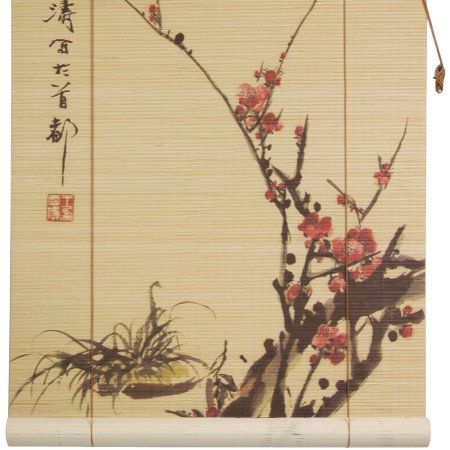 Free Shipping. Buy Sakura Blossom Bamboo Blinds at Walmart.com