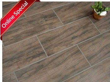 Kilimanjaro Fossil Wood Floor Tile