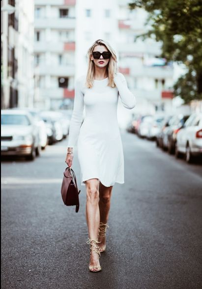 Street Style at its best. Dress from simone Cuntz