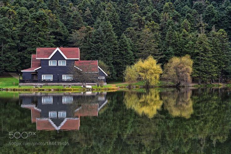 Popular on 500px : Gölcük Lake and Reflection  by ismailcalli