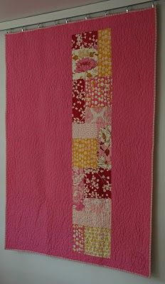 pink & warm would look good on the back of a quilt