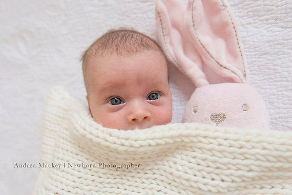 Dreamy soft newborn baby blanket from organic merino wool. Its minimalistic design and subtle organic hue will compliment any crib bedding and will add beautiful modern accent to your baby nursery.