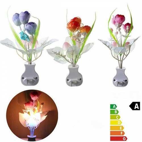 Prezzi e Sconti: # mini tulipano fungo morbido romantica  ad Euro 2.75 in #Led luci notturne #Elettronica