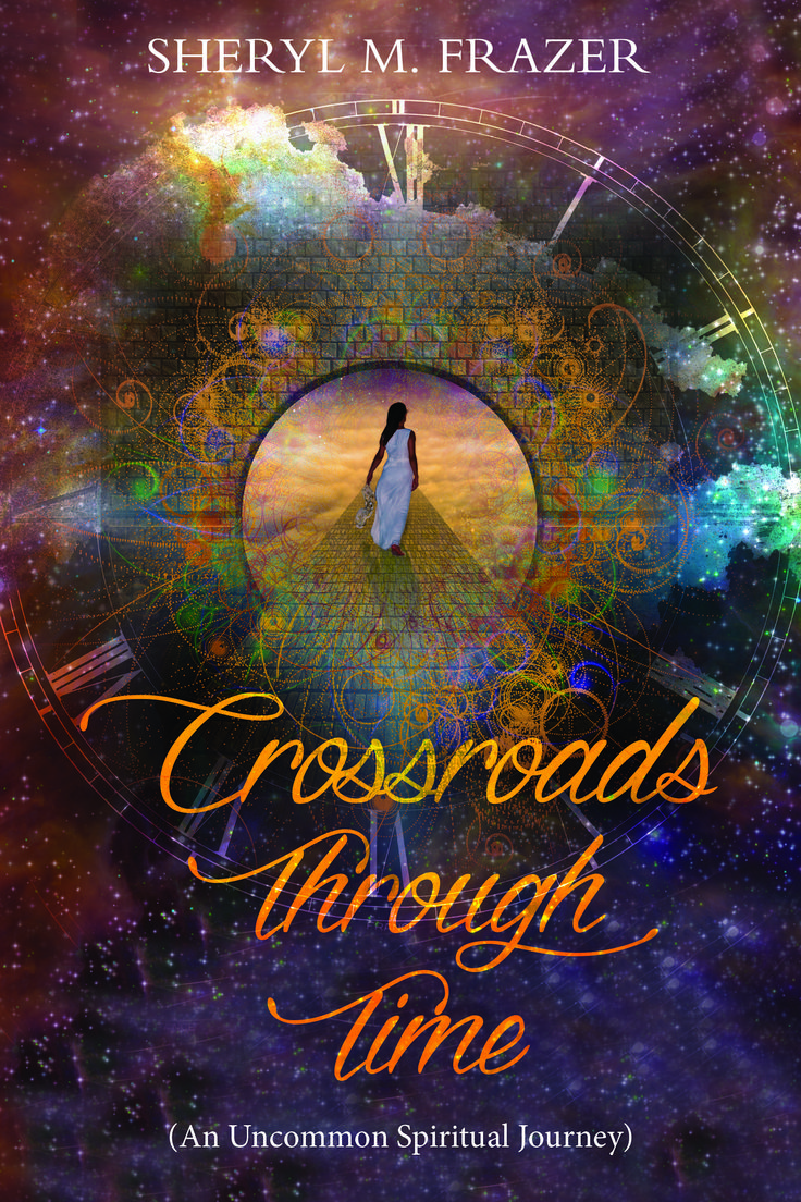 It was a life she didn't know. Choices she didn't make. And a spiritual journey she MUST forget!  https://www.amazon.com/Crossroads-Through-Time-Different-Altered/dp/1973950103/