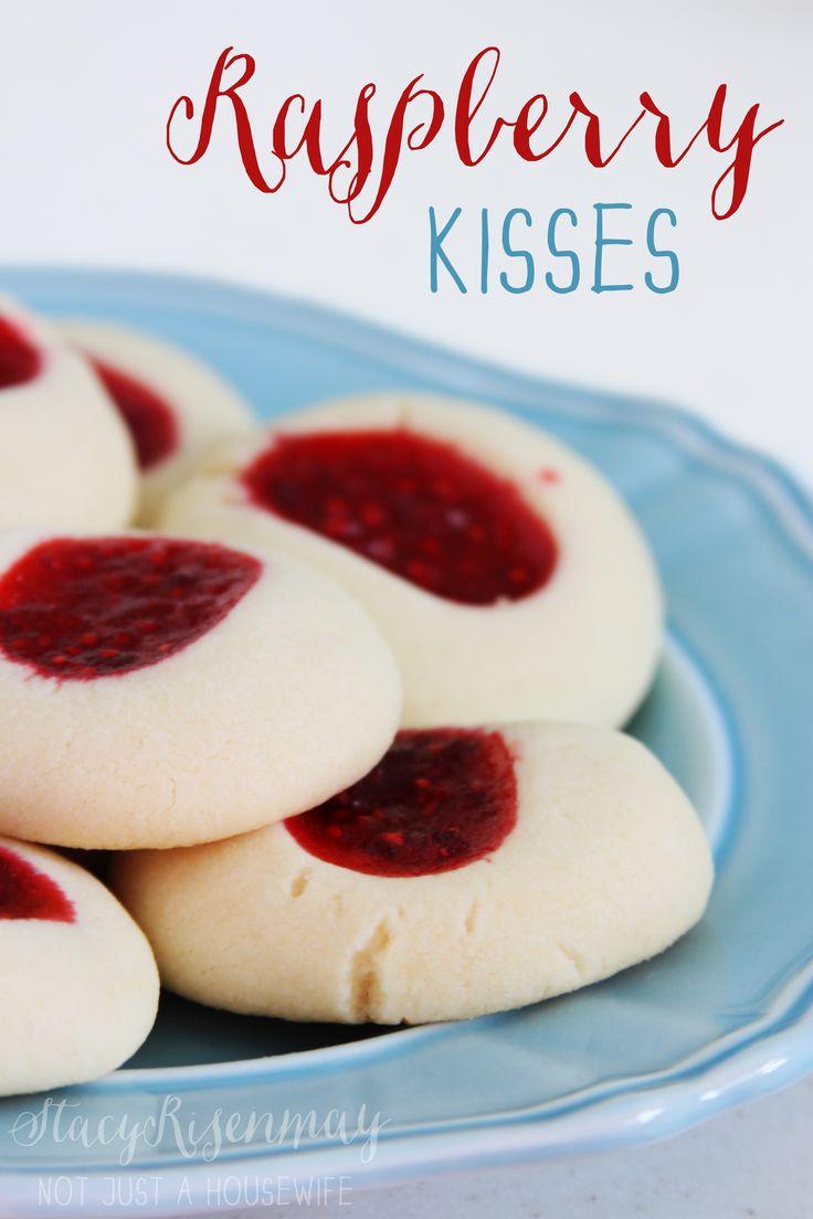 Swedish Raspberry Kiss Cookies
