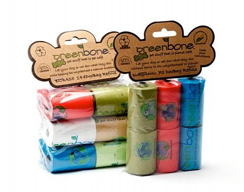 Biodegradable Waste Bags $17.00 from http://domesticbeast.com