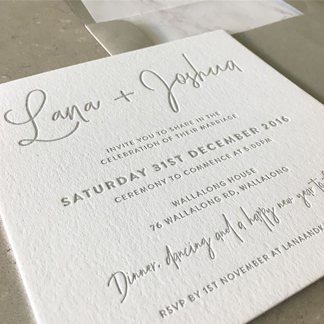 Simple, Square Wedding Invitations With Grey Letterpress Onto Luxurious  600gsm Card #thatimprintthough | Paper U2014 | Pinterest | Square Wedding  Invitations, ...