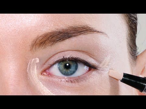 How to: STOP Concealer from Creasing! - sponge, concealer, place powder with damp sponge