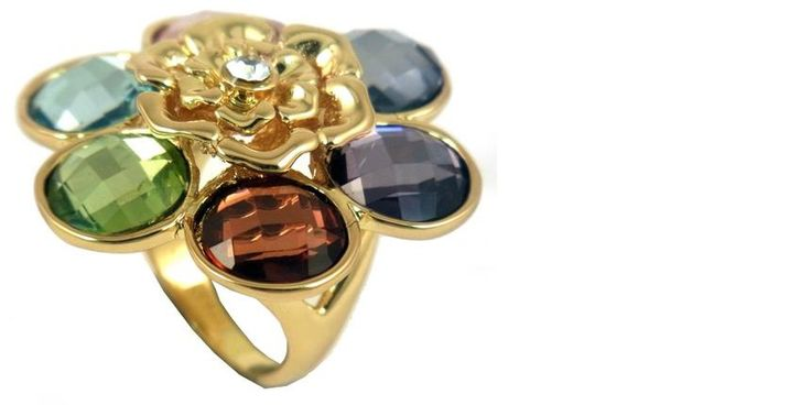 Coloured gemstone ring - www.bibiloconcepts.com.au