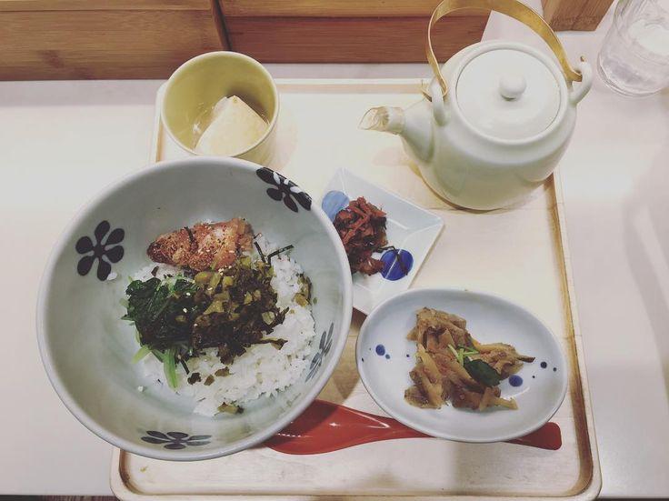 さっぱりしたいときは和食一択  #和 #japanese #だし茶漬け #japan #shinjuku