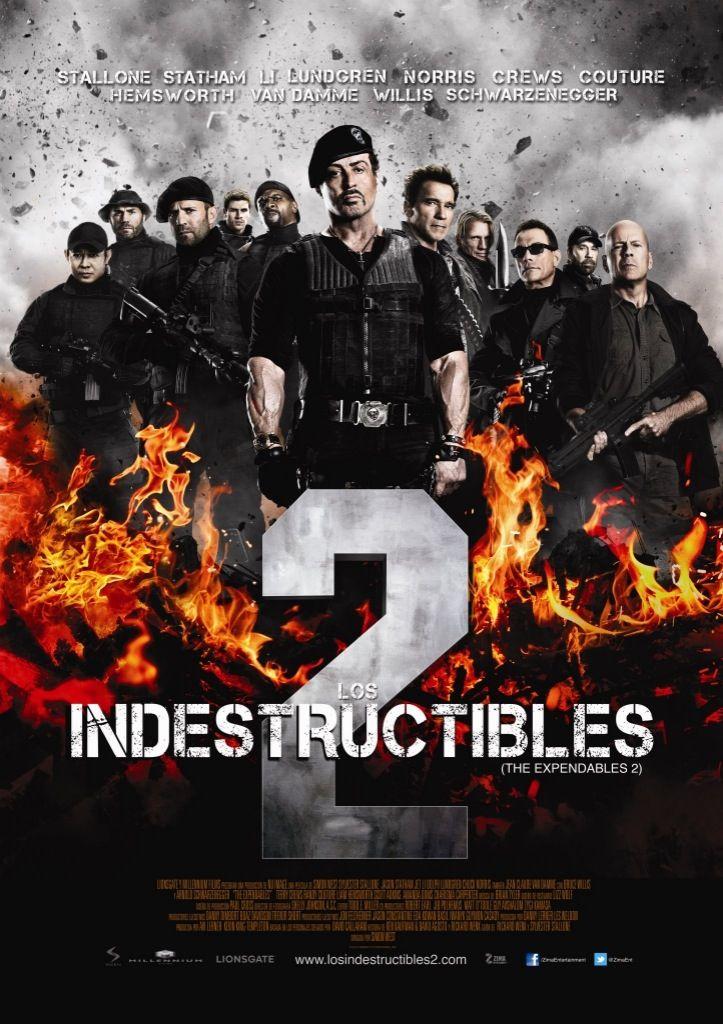 Los Indestructibles 2 Los Indestructibles Poster De Peliculas Posters Peliculas