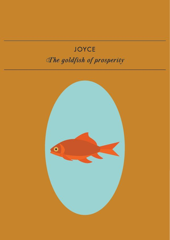 JOYCE THE GOLDFISH OF PROSPERITYIs the ECSR song, 'Insufficient funds', a bit too relatable
