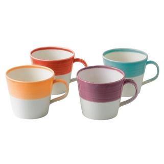 Royal Doulton 1815 Mugs Warm Colours, Set of 4