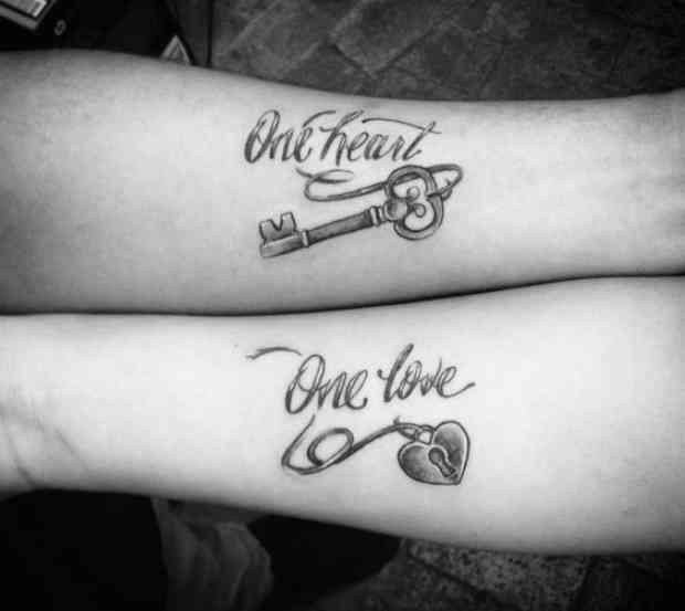 10 Quote Tattoos For Couples Who Totally Complete Each Other ...