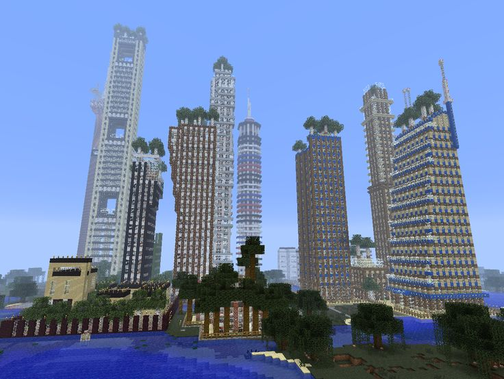 Big City Minecraft Seeds Minecraft Seeds Best Cool Flat