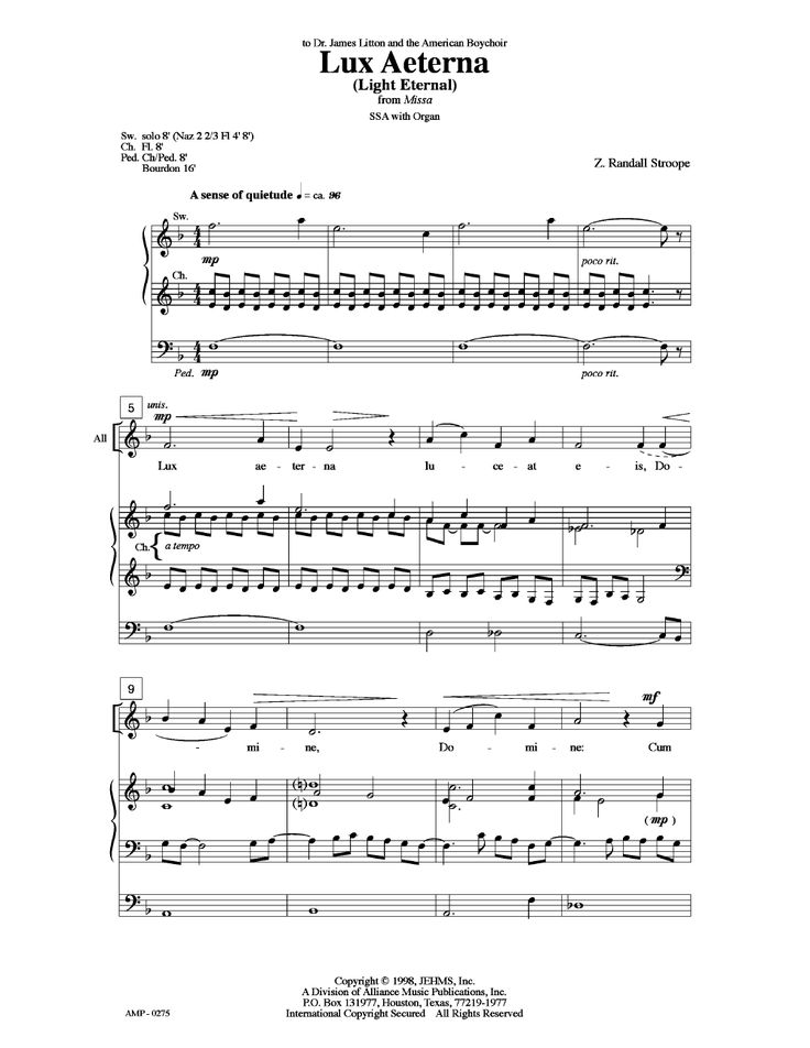 10 best Choral Music ~ Sacred images on Pinterest | Sheet music ...