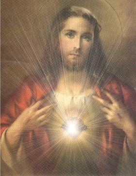 En la Iglesia Católica, el Sagrado Corazón es la devoción referida al corazón físico de Jesús de Nazareth, como un símbolo de amor divi...