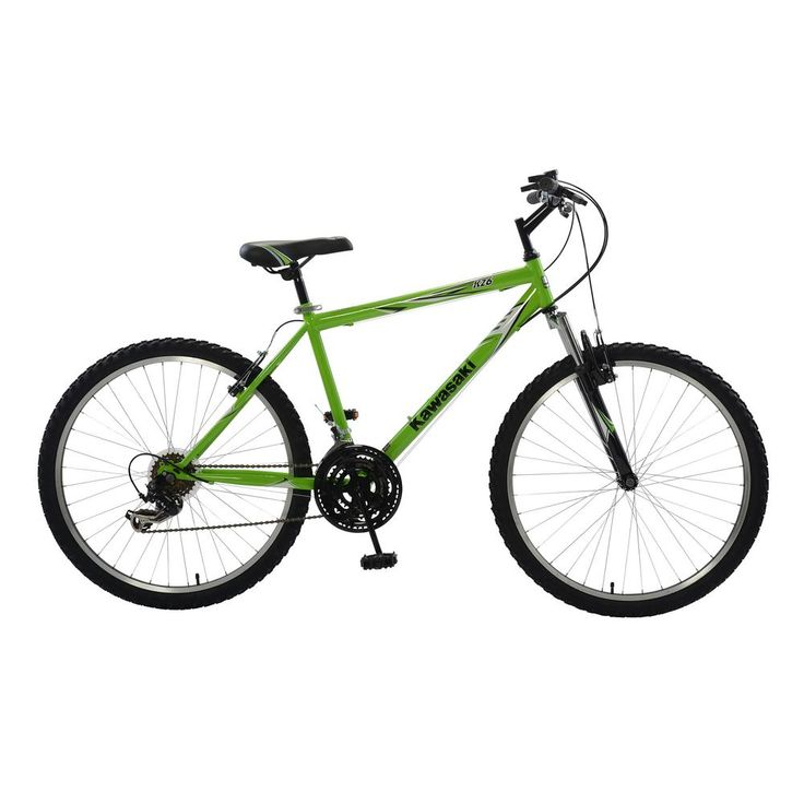 K26 Hardtail Mountain Bike, 26 in. Wheels, 18 in. Frame, Men's Bike in Green, Greens