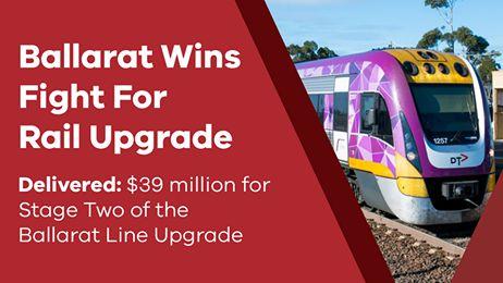 Ballarat Rail Line Upgrade
