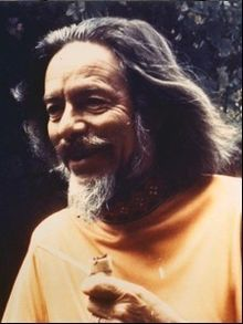"Alan Watts - Delightful British hippie, seeker, jokester and intellectual who inspired many a young student trying to break out of the box. Good popularizer of Lao Tzu and Taoism. His book Tao, The Watercourse Way notes ""you cannot put the wind in a bag."""