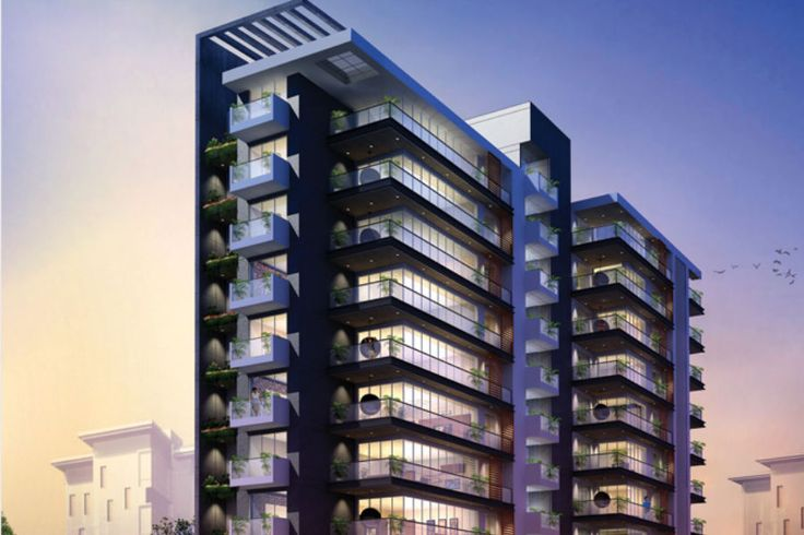 Anchor Realty | Tiara at Vile Parle offers 2 bhk flats & 3 bhk Property in Mumbai with modern amenities, 8 storey apartment with ample parking space and wide glass balcony