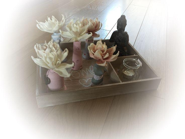 Van lege parfumflesjes