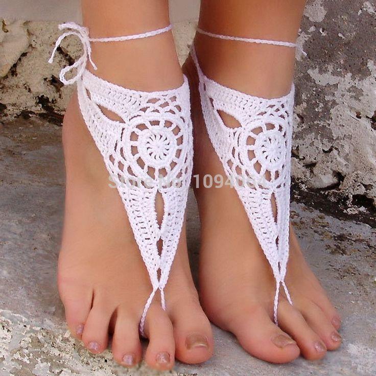 zapatos para dama en crochet - Google Search