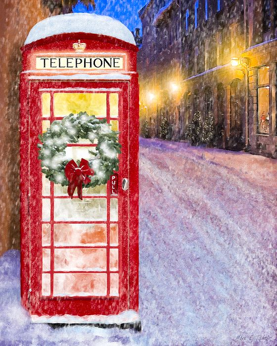 A Very British Christmas By Mark Tisdale Classic Red