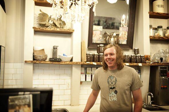Jason Galbraith of Rooster Coffee House