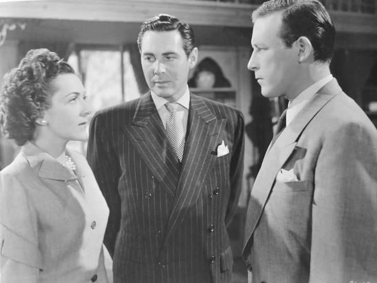 June Clayworth, Philip Reed, Lawrence Tierney, Bodyguard (1948)