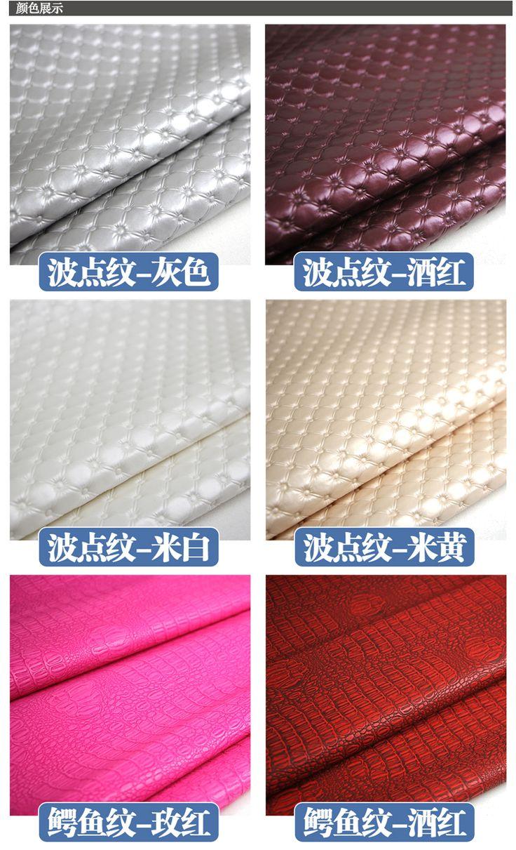 Новое прибытие 135 см ширина Крокодил ПУ искусственная кожа ткань мягкая Кожа Искусственная Кожа Ткань для Швейных мешок материал купить на AliExpress