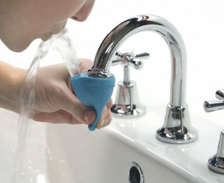 the tapi rubber water fountain attachment lets you make any sink faucet into a water fountain. Black Bedroom Furniture Sets. Home Design Ideas