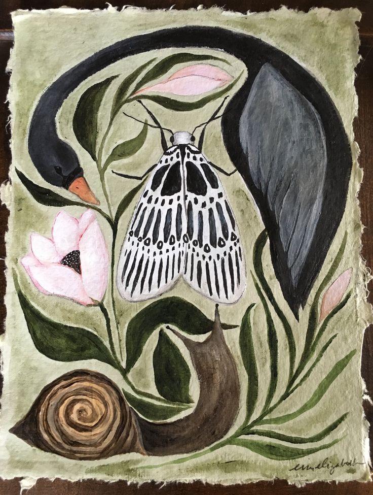 Painting by artist Erin Elizabeth