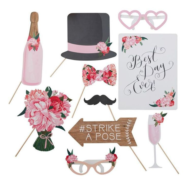 Photobooth-kit BOHO | Populärt Photobooth Kit Till Bröllop