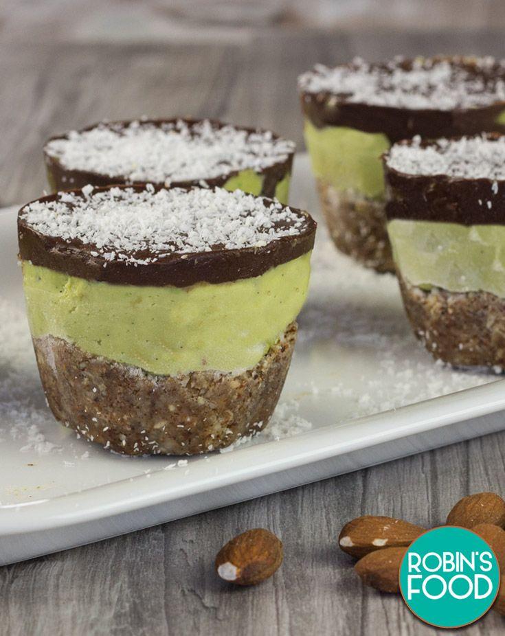 Avocado Rawcake Sweet ✓ Vegan ✓ – Robin's Food